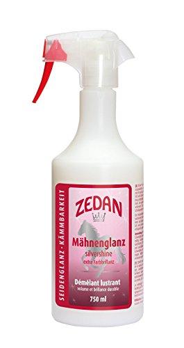 Zedan Mähnen-, Fell- und Schweifglanz, 750ml, für seidigen Glanz, optimale Kämmbarkeit und mehr Volumen