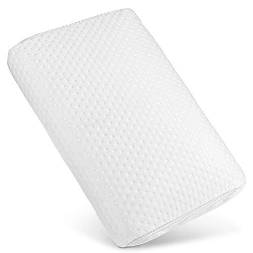 WELLRELAXX Orthopädisches Kissen für Nackenschmerzen Made in EU -Premium- Bequemes und anschmiegsames Nackenstützkissen - Hochwertiger kuschliger Bezug - Nackenkissen Kopfkissen komplett waschbar