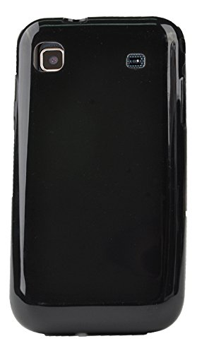 Muvit MUCCP0376 - Funda para Samsung I9000/Galaxy S Plus, color negro