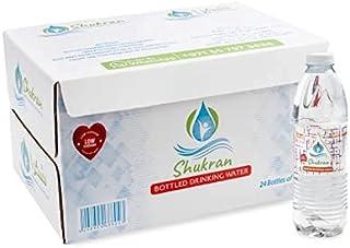 Shukran [10 CARTONS] Bottled Drinking Water, 500 ML (1 Carton - Pack of 24 Water Bottles)