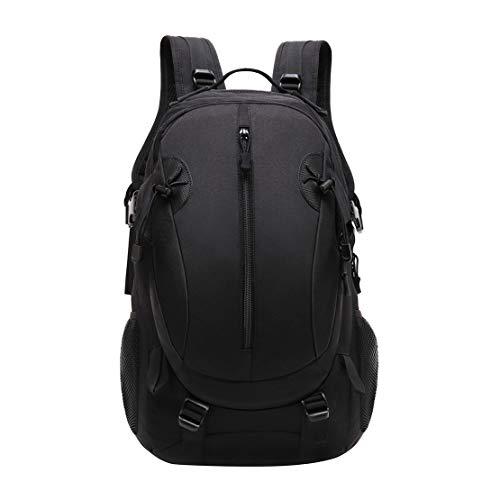 JOTHIN 40L Tactical Backpack Outdoor Pack Military Daypack Army Rucksack Assault bag for Men Women Travelling Camping Hiking Trekking (black) (Black)