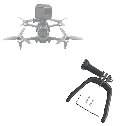 Honlyn Extension Holders Top Bracket Camera Connect Adapter Compatible with DJI FPV Drone for Gopro Camera Mount Holder Clip Accessory