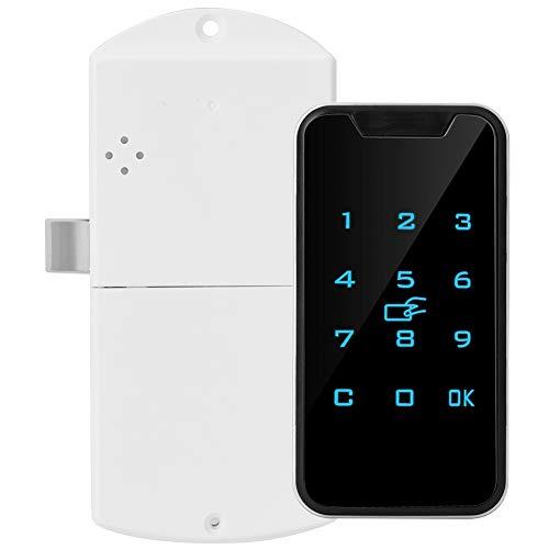Smart Digital RFID Schloss Passwort Schloss Elektronische Sicherheitsschrankensperre, Zinklegierung Schlüsselloses Schloss für Schubladen, Schränke, Feile