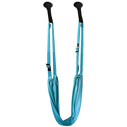 K-Park Correa de Yoga/cinturón de Yoga, Lujoso, extralargo, súper Suave, cinturón de Gimnasia para Yoga, Pilates, Textura Delicada Duradera y cómoda Honest