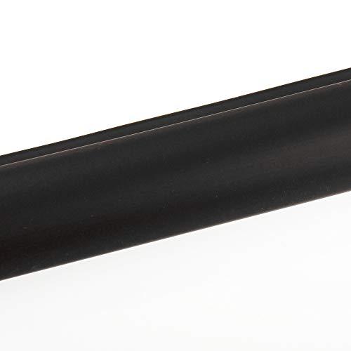 Treppenkanten Kunststoff Profil 100 x 5,0 x 3,5 cm schwarz