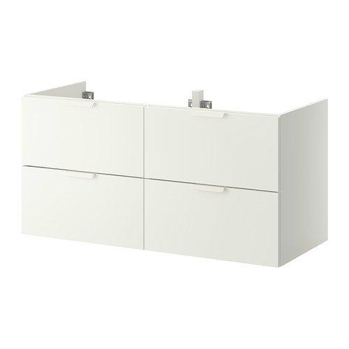 Ikea GODMORGON Waschtisch mit 4 Schubladen, weiß, 120 x 47 x 58 cm