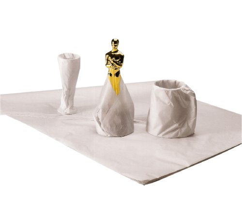 Ambassador - Papel de embalaje (500 x 750 mm, 18 g/m², 480 hojas), color blanco