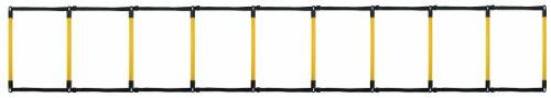 Rucanor 20408 Koordinationsleiter, 4m, schwarz/gelb