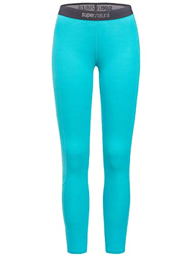 Supernatural Base Leggings 175 Femme, Pagoda Blue, FR : M (Taille Fabricant : M)