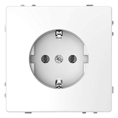 Merten stopcontact SCHUKO lotuswit systeem ontwerp, 71x71mm