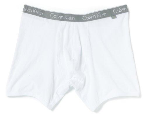 Calvin Klein CK ONE - Cotton Stretch Boxer Brief U8504A Herren Unterwäsche/ Pants, Ohne Eingriff, Gr. 5 M, Weiß (100)