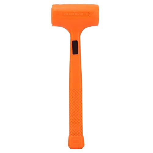 Praktische PVC Gummi Soft Face Dead Blow Hammer Nicht elastische Gummihammer für Bodenfliese Marbe Installation Möbel Design(1LB)