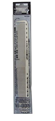 YS Park 335 Extra Long Cutting Comb en graphite de ProHairTools par Y.S.Park