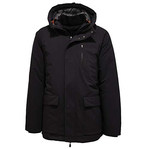 Save The Duck 2581K Giubbotto Uomo PRO-Tech Black Jacket Man [XXL]