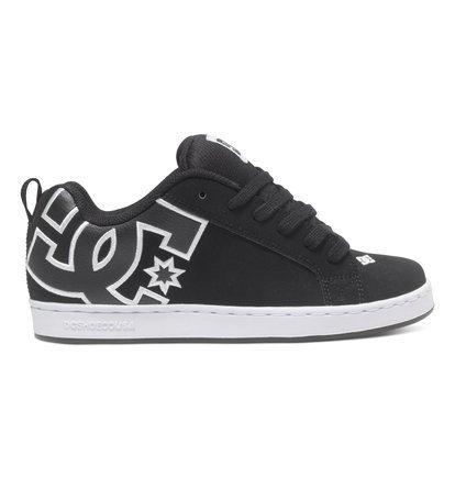 DC Shoes Womens Shoes Court Graffik - Skate Shoes - Women - US 8.5 - Black Black/Pink/Black US 8.5 / UK 6.5 / EU 40