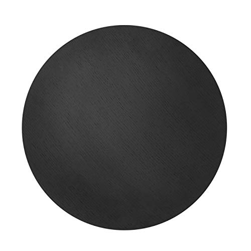 Ferm Living tafelblad, eiken, zwart, 50 cm