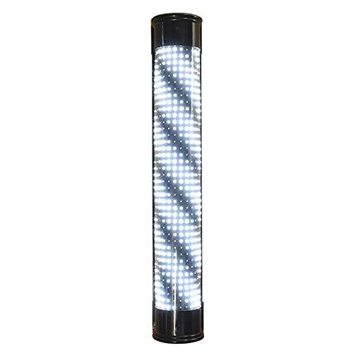 WangXN afstandsbediening verlichting, voor kapsalons, LED-gloeilamp, draaibaar, voor woonkamer, waterdicht, rode en witte strepen