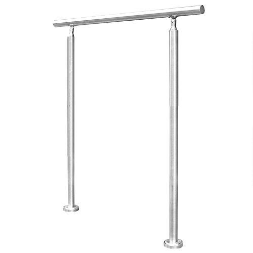 Home Deluxe - Treppengeländer - Maße: 140 x 102,5 cm - inkl. Bodenanker in 6 verschiedenen Größen