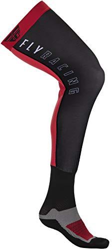 Fly Racing 2021 Knee Brace Socks (Large/X-Large) (Red/Black)