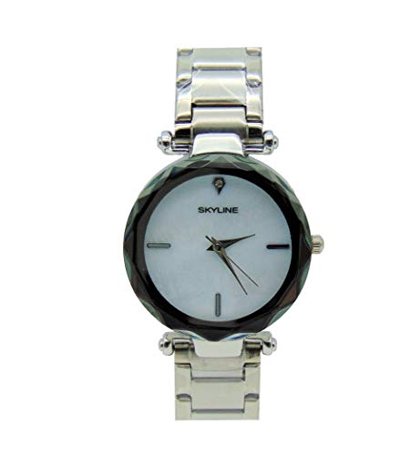 Reloj diamente Blanco/Sky