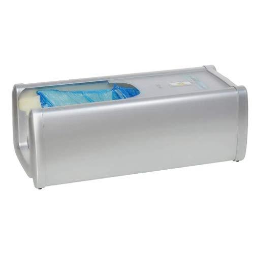 ZSQDSZ Cubre-zapato Dispensador de la máquina Automático en el hogar Antideslizante Silenciador de seguridad antidesgaste, 60 Cubiertas de plástico desechables para zapatos, Unisex Disposable Disposab