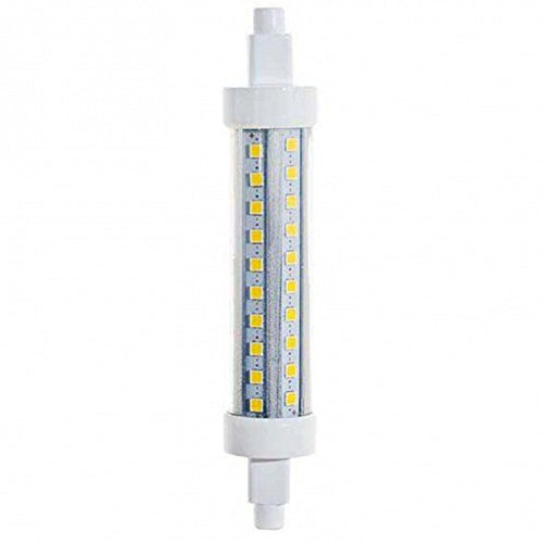 Bombilla LED de 15 x 118 mm, 1050 lúmenes, luz natural de 4000 K, 9 W, casquillo R7s, Slim Life