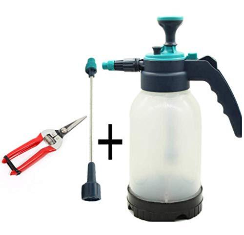 Phil Beauty 2L Regadera pequeña Botella Pulverizador a presión doméstico para regar Plantas para la higiene y la Seguridad del hogar. Limpiador de Pisos o alfombras,F