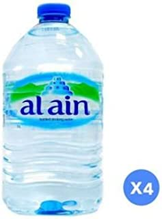 Al Ain Bottled Water - Pack of 4 Pieces (4 x 5L)