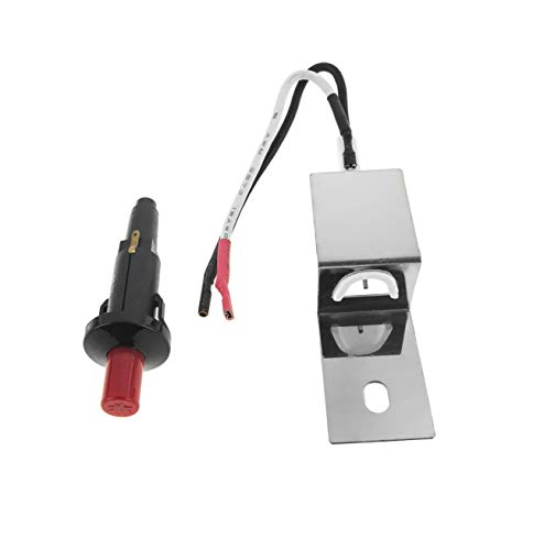 EasiBBQ 80462 Gas Grill Replacement Ignitor Kit for Weber Q100 Q200 Gas Grills, Push Button Ignitor fire Starter