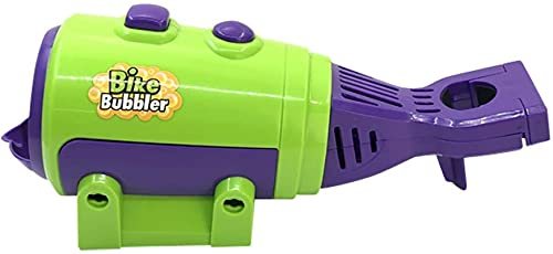 wgkgh Automatic Bubble Machine, Kids Bike Outdoor Activity Bubble Machine, Over 2000 Bubbles per Minute Durable Bubble Maker Toy for Party Outdoor (Green)