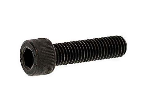 高強度ボルト用鋼(KNDS4)/酸化鉄被膜 超強度キャップボルト [強度区分:14.9] (全ねじ) M6×25 (3本)