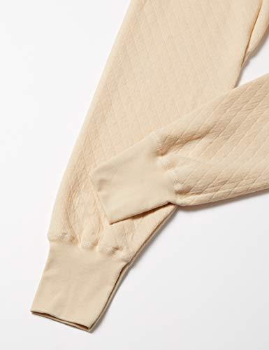 『[グンゼ] 長ズボン下 前あき 毛混キルト RP8402 メンズ ベージュ L』の3枚目の画像