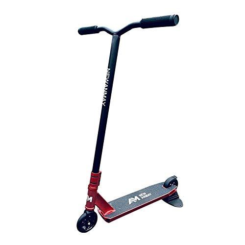 MYAOU Scooter Scooters de Acrobacias para Adultos para niños Mayores de 11 años - 360 Spin Tricks Push/Kicks - Patinete Profesional Freestyle con Ruedas de Poliuretano de Alto Impacto Ligero