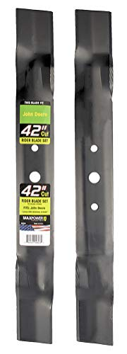 Maxpower 561806B 2-Blade Set for 42' Cut John Deere, GX20249, GX20433, GY20567