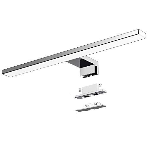 Lámpara LED de Espejo 10W 820LM Lámpara de Baño Azhien, Blanco Neutro 4000K Lámpara LED de Pared Luz de Gabinete IP44 230V Luz de Espejo de Baño de 40cm