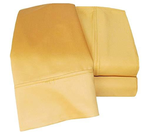 Rest Nest 7 Piece Sheet Set 400 Thread Count Ultra Soft Egyptian Cotton Comfortable Bedding (1 Fitted Sheet, 1 Flat...