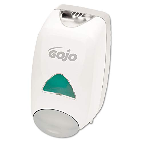 GOJO FMX-12 Push-Style Foam Soap Dispenser, Dove Grey, Dispenser for GOJO FMX-12 1250 mL Hand Soap Refills - 5150-06