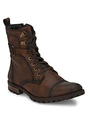 Delize Men's Black Tan Party Boots