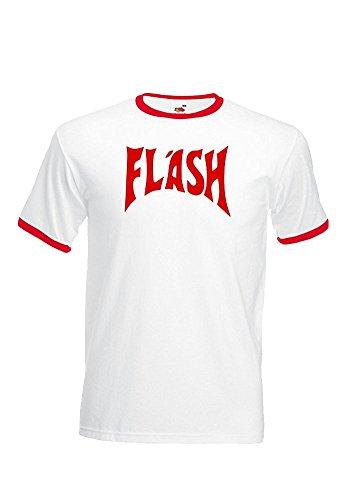 Flash Gordon T-shirt Motif cerf Reine Freddie Mercury rétro 80S S-XXL XXL