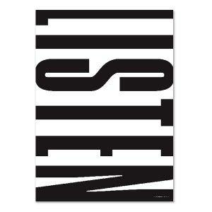 PLTY - Poster - Listen - 50x70 cm