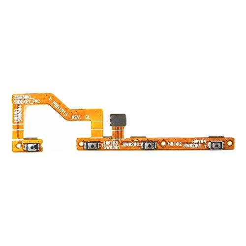 Lihuoxiu Mobile Phone Replacement Parts Power Button & Volume Button Flex Cable for Asus Zenfone 6 (2019) / ZS630KL Telephone Accessories