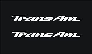 Graphicsplus123 Pontiac Trans Am Door Handle Decals (White)