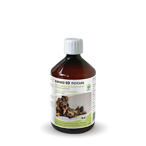 Emiko® PetCare Ergänzungsfuttermittel flüssig 500ml für den Darm von Hund & Katze