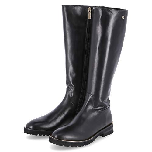 Aigner Stiefel AVA 9F Größe 38 EU Schwarz (Schwarz)