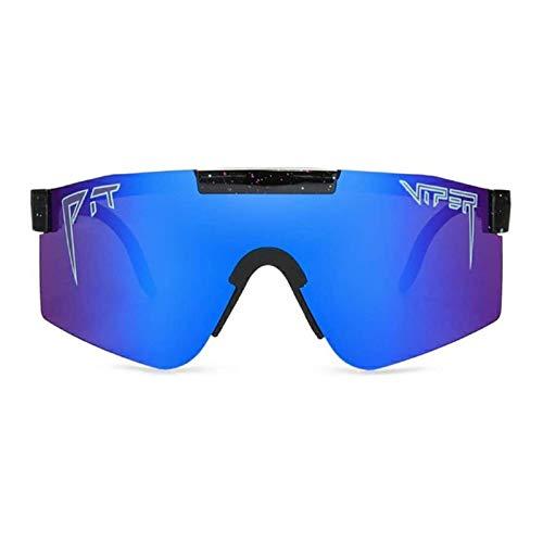 Gafas de sol deportivas polarizadas para hombres y mujeres, conducción en bicicleta, golf, pesca, correr, vela, esquí, protección UV400, ligero, marco TR90 resistente y unisex