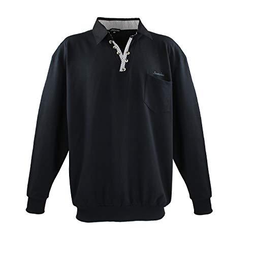 Lavecchia Herren Sweatshirt LV-602-Black (6XL)