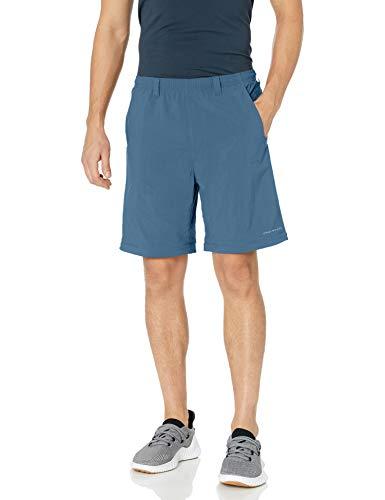 Columbia Men's Standard Backcast Convertible Pant, Dark Mountain, Small x 34