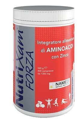 Named Nutrixam Forza Amminoacidi Calcio Magnesio Zinco, 400 Compresse
