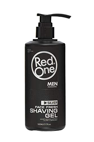 Redone shaving gel with pump (Silver) 500 ml