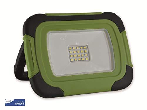 V-tac VT-11-R LED Bouwlamp/Werklamp op accu - 10W - 6400K - Groen